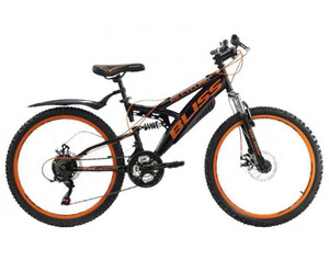 KS Cycling Jugendfahrrad Mountainbike Fully 24 Bliss