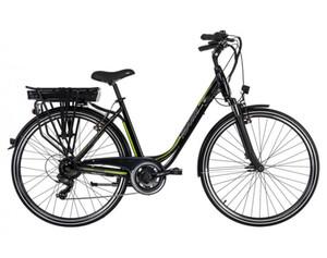 Adore Pedelec E-Bike Cityfahrrad 28'' Adore Versailles schwarz-grün