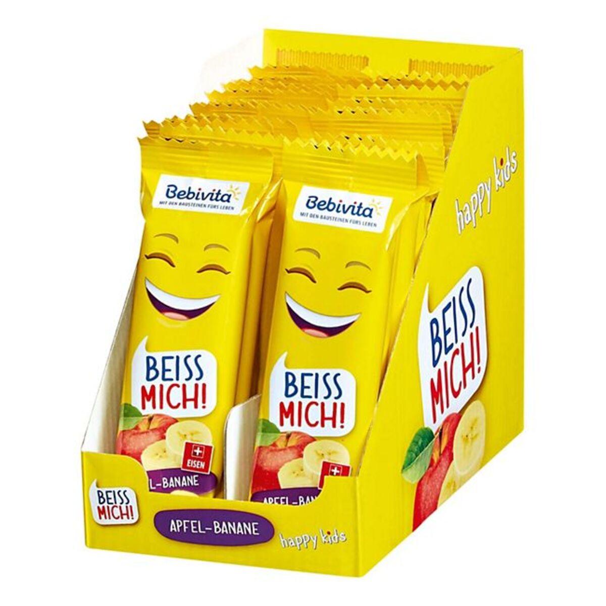 Bild 1 von Bebivita Früchte Riegel Apfel Banane 25 g, 20er Pack