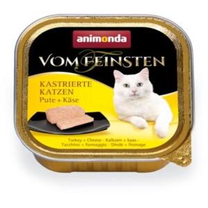 Animonda Vom Feinsten für kastrierte Katzen 32x100g Pute & Käse