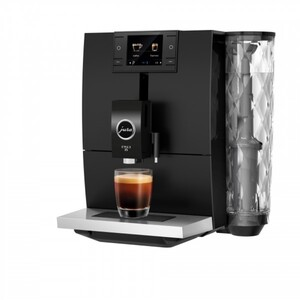 Jura Kaffeevollautomat Ena 8 metropolitan black ,  15 Bar, Aroma G3, 1,1 l Tank, schwarz