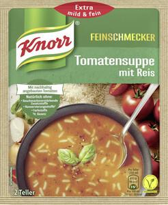 Knorr Feinschmecker Tomatensuppe mit Reis 49 g