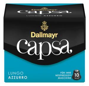 Dallmayr Capsa Lungo Azzurro Intensität 8 Nespresso kompatible Kapseln 10x 5,6 g