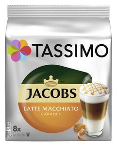 Tassimo Jacobs Latte Macchiato Caramel 8x 33,5 g