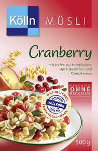 Kölln Müsli Cranberry 500 g
