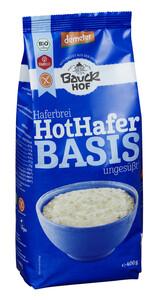 Bauckhof Demeter Bio Haferbrei Hot Hafer Basis ungesüßt glutenfrei 400 g