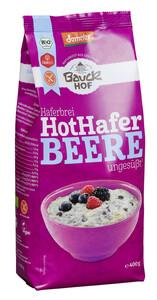 Bauckhof Demeter Bio Haferbrei Hot Hafer Beere ungesüßt 400 g