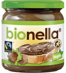 Bionella Bio Nuss-Nougat-Creme vegan 400 g