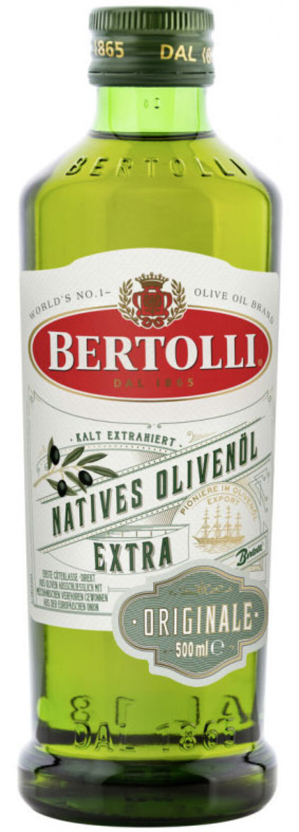 Bertolli Natives Olivenöl Extra Originale 500 ml
