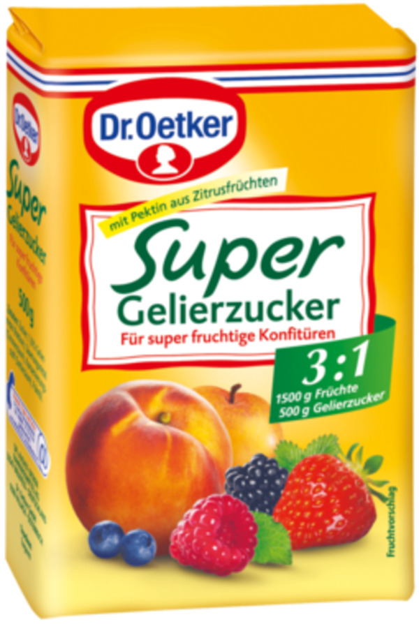 Dr.Oetker Super Gelierzucker 3:1 500 g