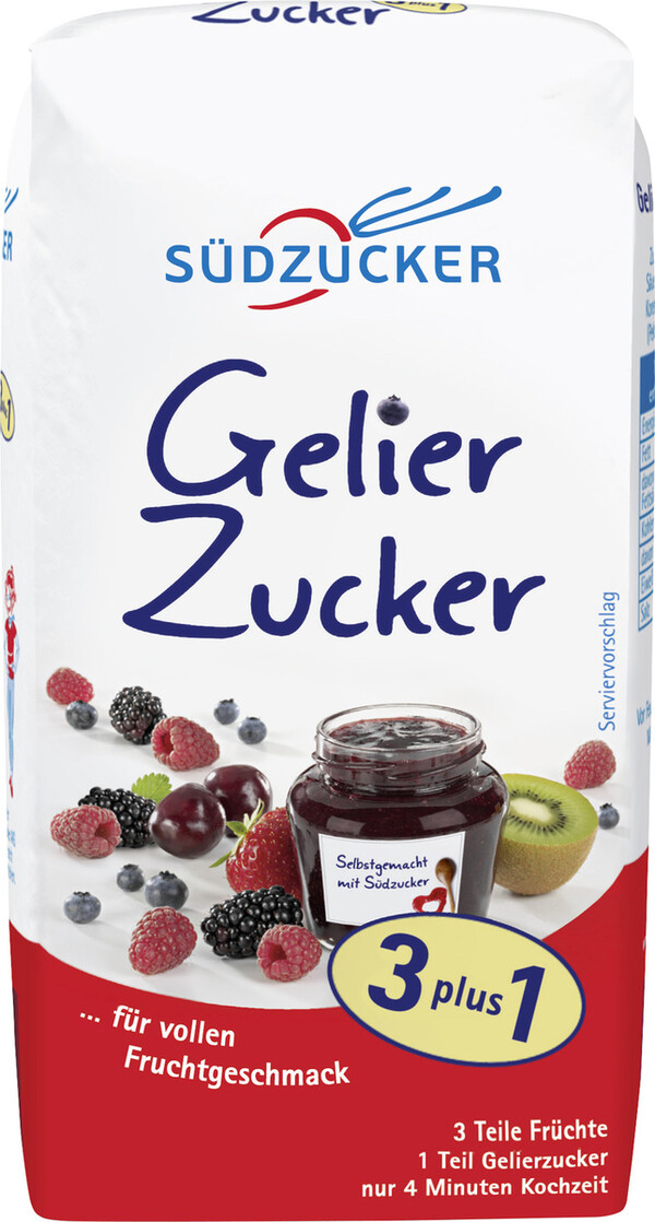 Südzucker Gelierzucker 3 plus 1 500G