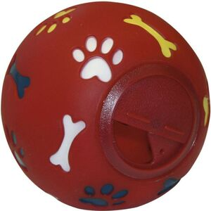 Hundespielzeug - Snackball - rot