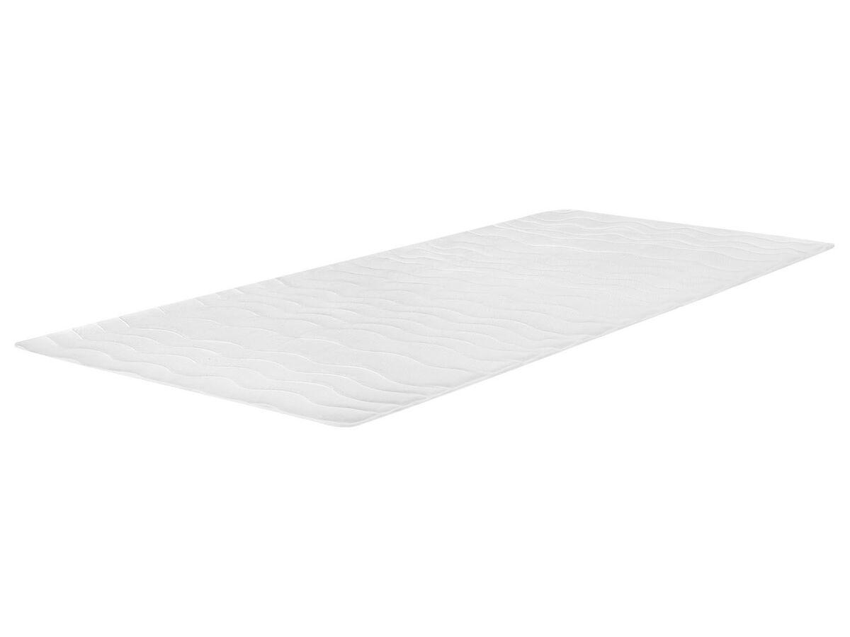 Bild 1 von MERADISO® Matratzenaulage, 140 x 200 cm, mit Eckgummis, Oberseite aus Jersey-Doppeltuch