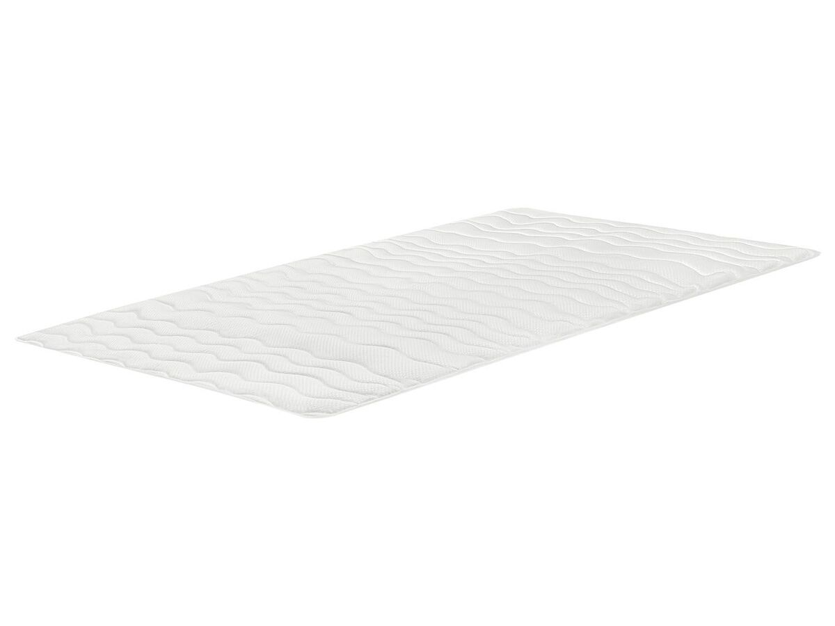 Bild 1 von MERADISO® Matratzenaulage, 180 x 200 cm, mit Eckgummis, Oberseite aus Jersey-Doppeltuch
