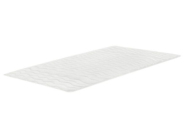 MERADISO® Matratzenaulage, 180 x 200 cm, mit Eckgummis, Oberseite aus Jersey-Doppeltuch