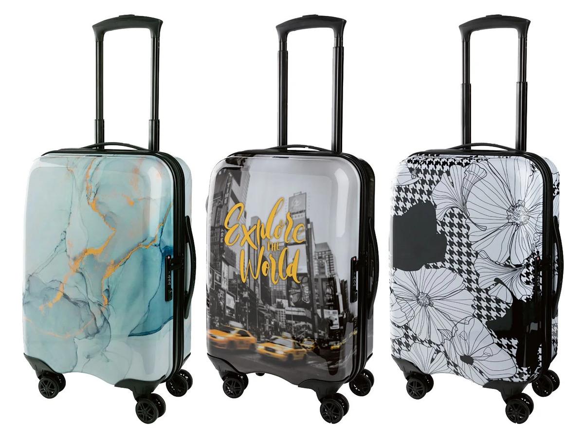 Bild 1 von TOPMOVE® Handgepäckkoffer, 30 l Fassungsvermögen, mit 4 Rollen, ABS-Polycarbonat-Gehäuse