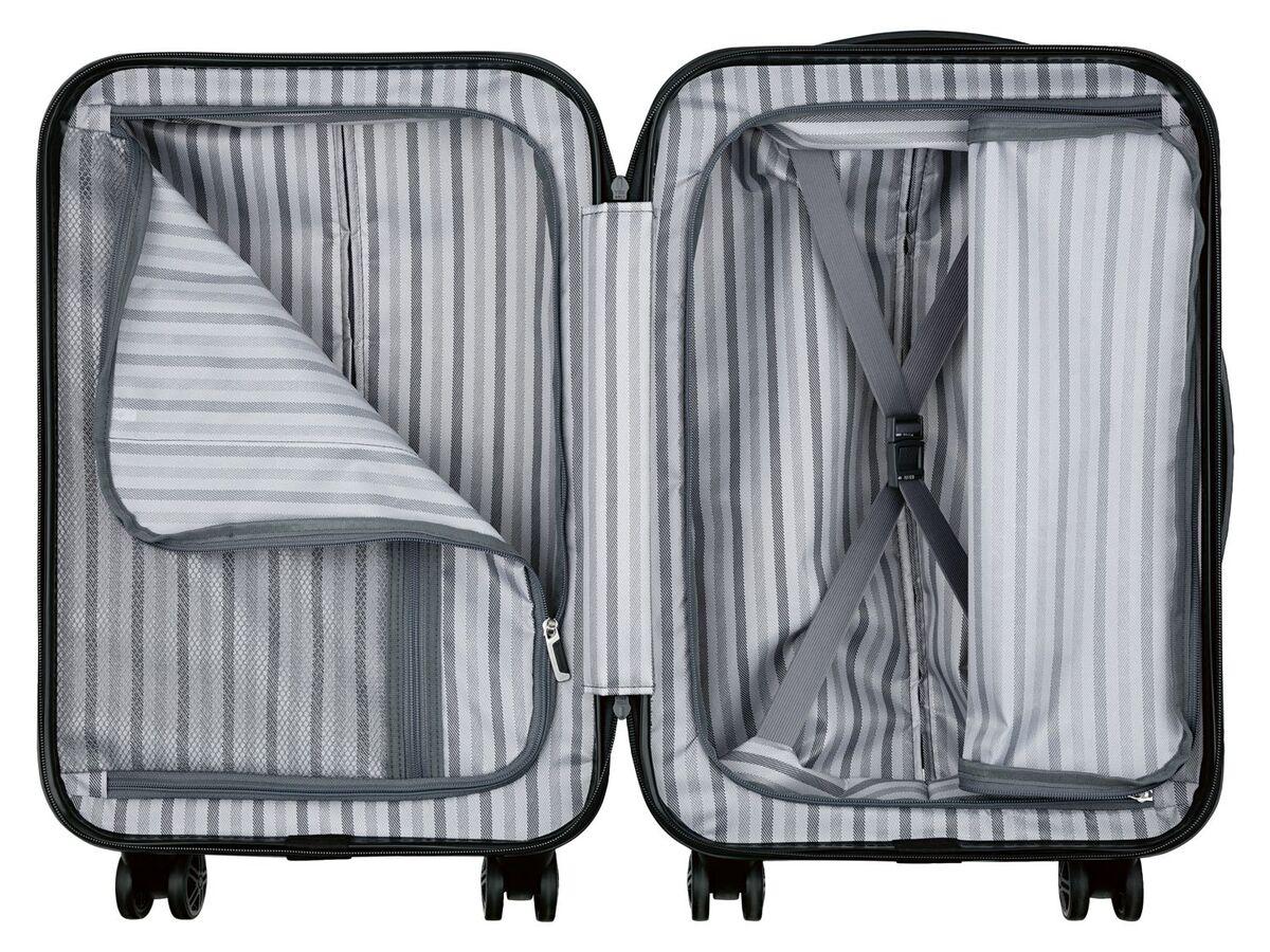Bild 3 von TOPMOVE® Handgepäckkoffer, 30 l Fassungsvermögen, mit 4 Rollen, ABS-Polycarbonat-Gehäuse