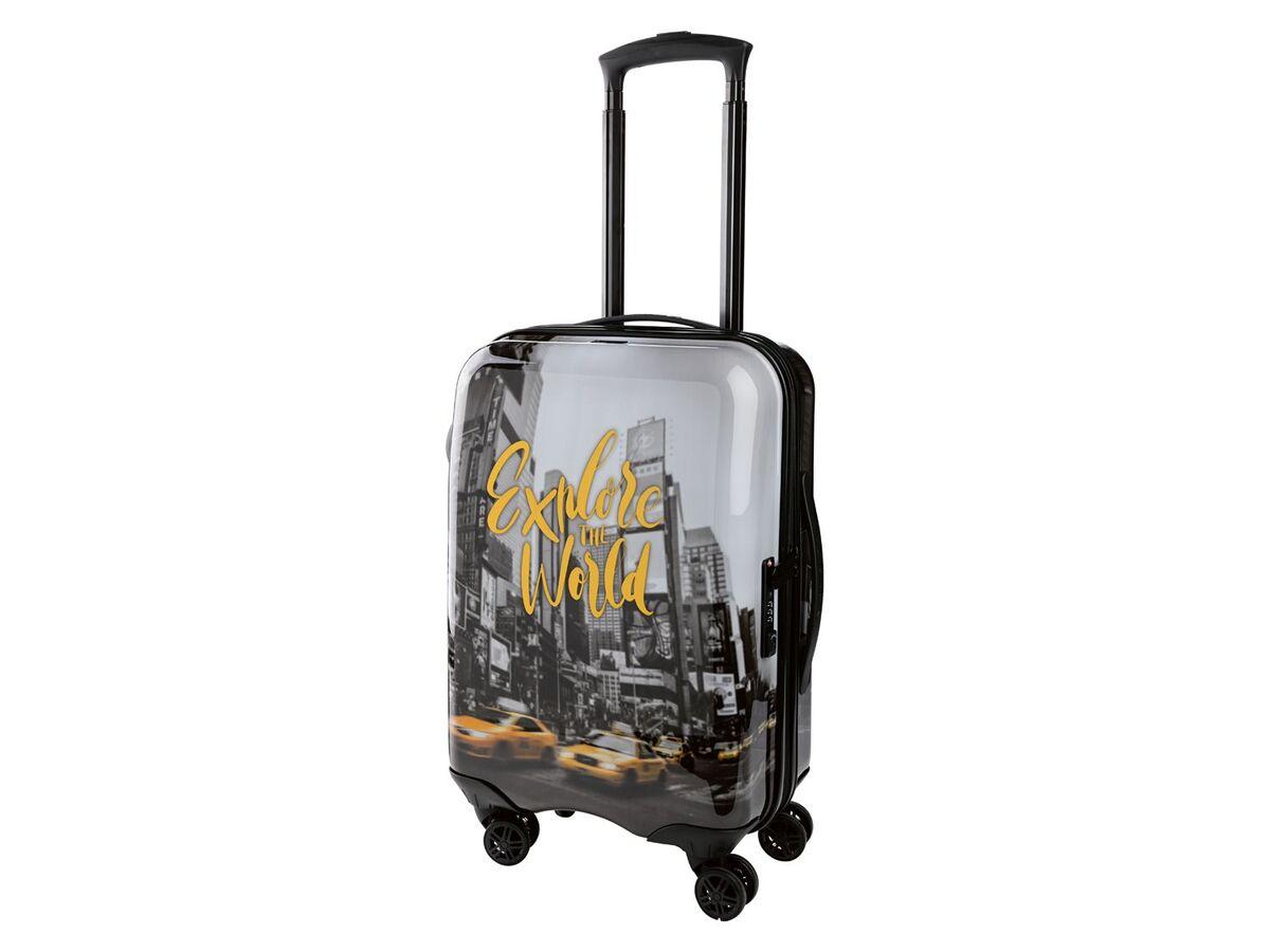 Bild 5 von TOPMOVE® Handgepäckkoffer, 30 l Fassungsvermögen, mit 4 Rollen, ABS-Polycarbonat-Gehäuse