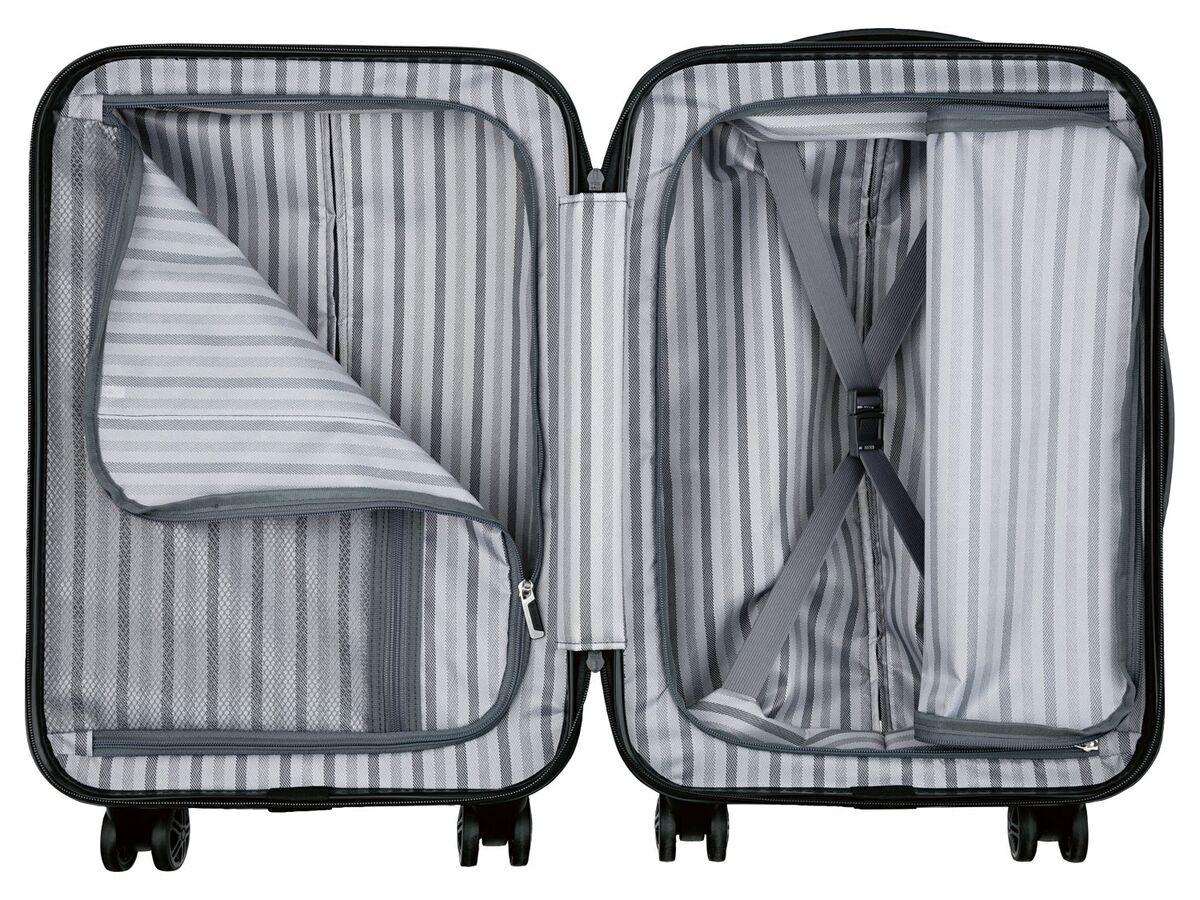 Bild 6 von TOPMOVE® Handgepäckkoffer, 30 l Fassungsvermögen, mit 4 Rollen, ABS-Polycarbonat-Gehäuse