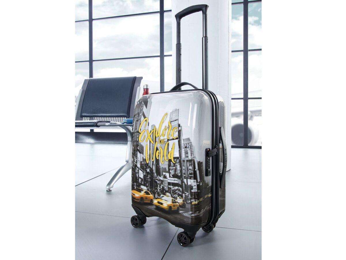 Bild 8 von TOPMOVE® Handgepäckkoffer, 30 l Fassungsvermögen, mit 4 Rollen, ABS-Polycarbonat-Gehäuse