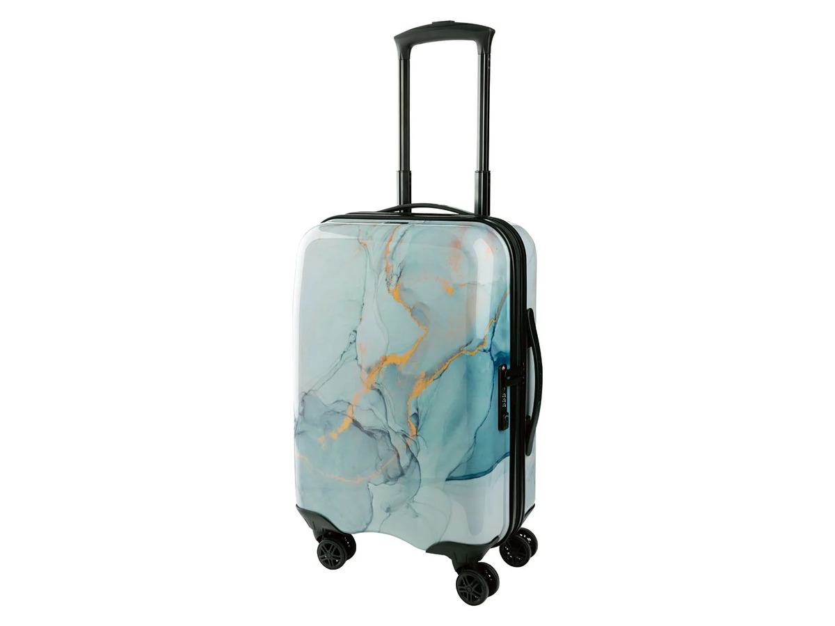 Bild 9 von TOPMOVE® Handgepäckkoffer, 30 l Fassungsvermögen, mit 4 Rollen, ABS-Polycarbonat-Gehäuse