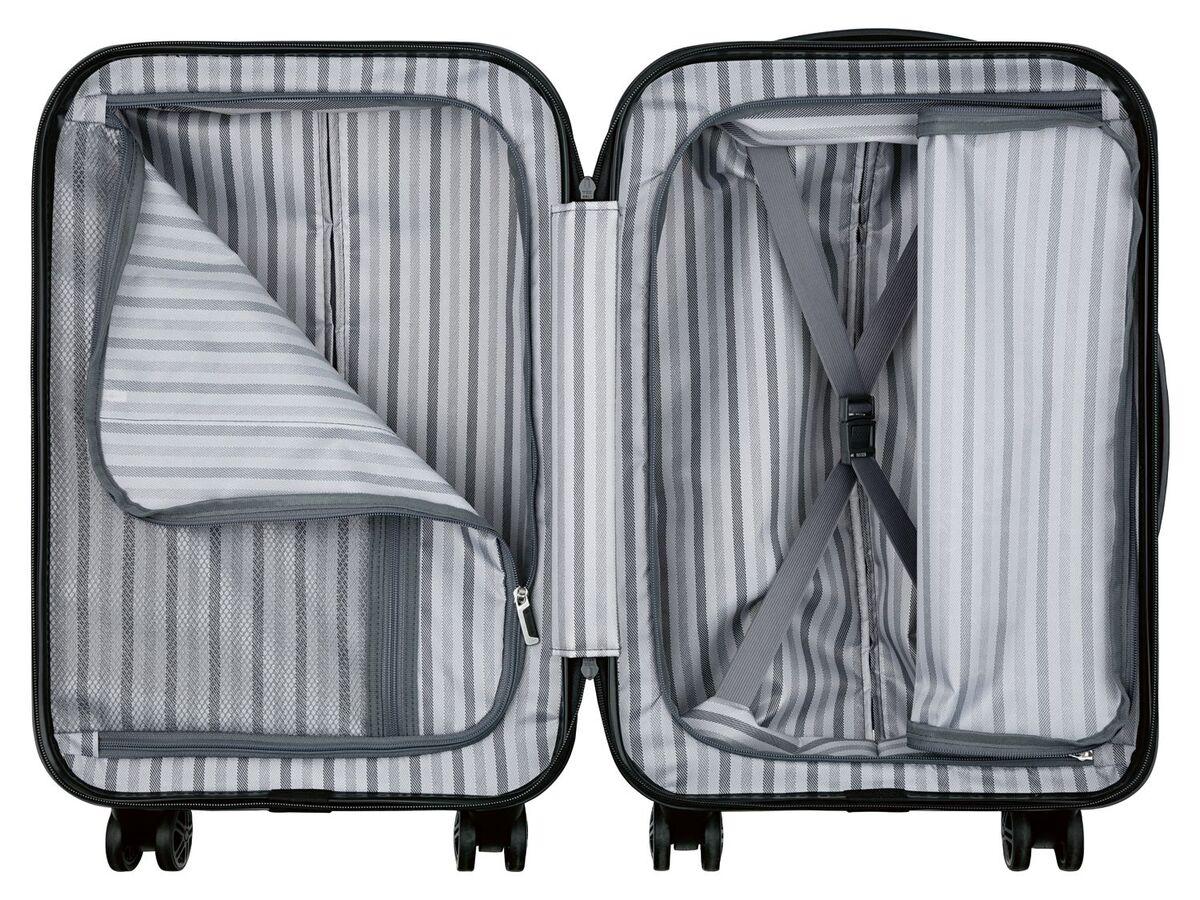 Bild 10 von TOPMOVE® Handgepäckkoffer, 30 l Fassungsvermögen, mit 4 Rollen, ABS-Polycarbonat-Gehäuse