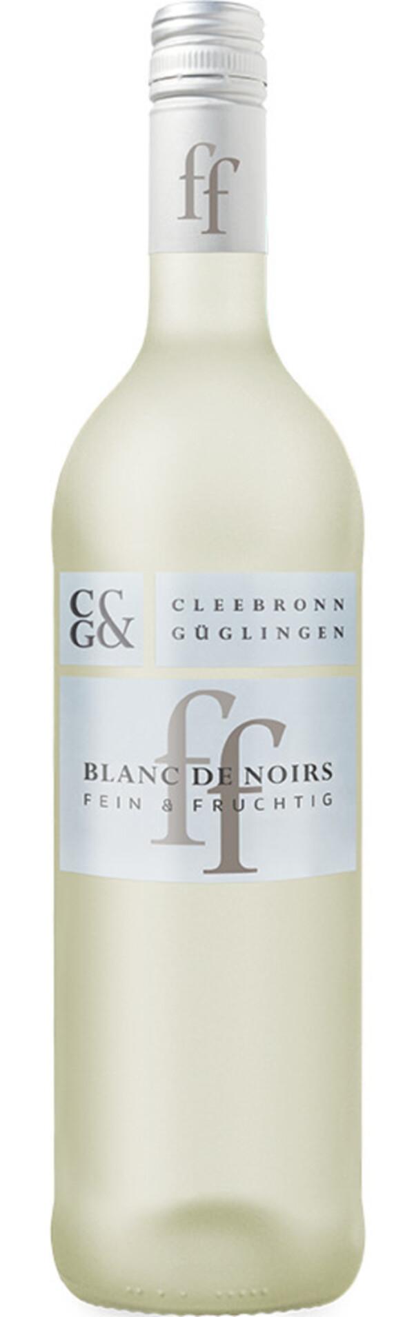 Cleebronn Güglingen Fein & Fruchtig Blanc de Noirs 2019 0,75 ltr