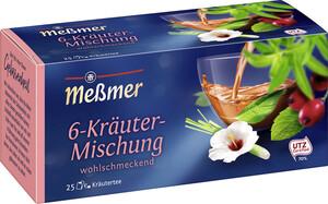 Meßmer Tee 6-Kräuter Mischung 25x 2 g