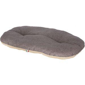 Hundezubehör - Liegekissen - beige/grau - 72 x 52 cm