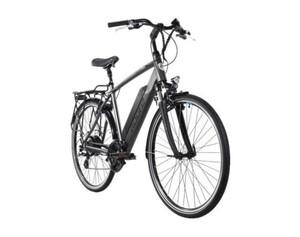 Adore Alu E-Trekking Bike 28'' Adore Ancona Grau 250W Li-Ion 36V/14 Ah/504 Wh 24 Gänge