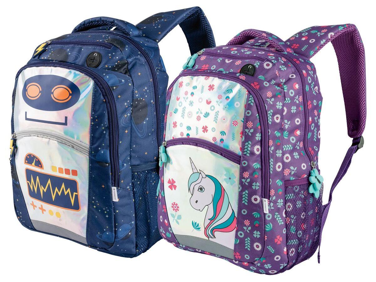 Bild 1 von TOPMOVE® Kinder Rucksack, 460 g, 16 L Fassungsvermögen, atmungsaktiv