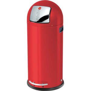 Hailo KickMaxx XL Großraum-Abfallboxen, rot