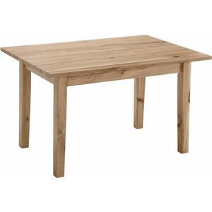 Venda Esstisch wildeiche teilmassiv rechteckig eichefarben  , Iseo , Holz , 85x75x125 cm , lackiert,Echtholz , 000675024102