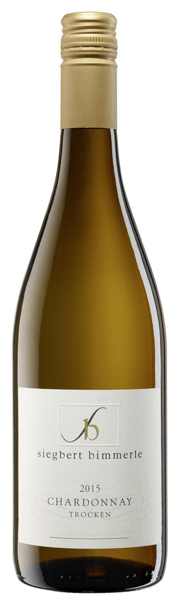 Siegbert Bimmerle Chardonnay Weißwein trocken 2018 0,75 ltr