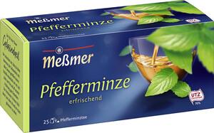 Meßmer Tee Pfefferminze klein 25x 2,25 g