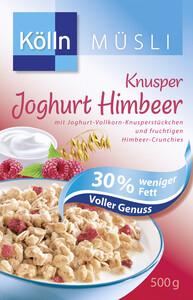 Kölln Müsli Knusper Joghurt Himbeer 30% weniger Fett 500 g