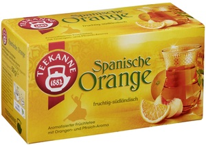 Teekanne Spanische Orange 20x 2,5 g