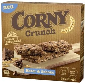 Corny Crunch Hafer & Schoko Riegel 6x 20 g