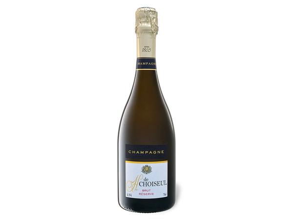 H. de Choiseul Brut Reserve, Champagner