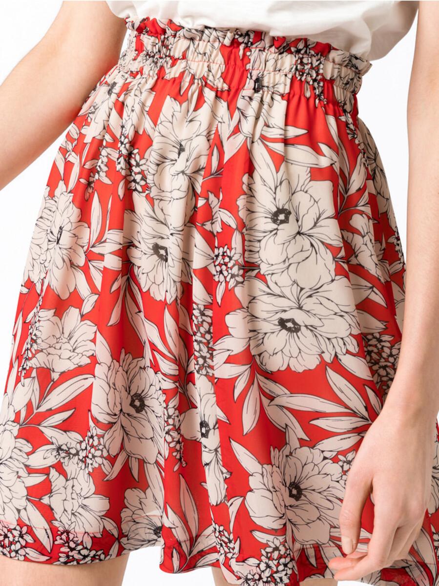 Bild 3 von Taillenrock mit Maxi-Blumenprint