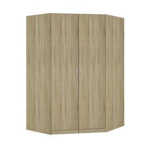 Carryhome Eckschrank sonoma eiche  , Case , Holzwerkstoff , 9 Fächer , 117x197x117 cm , Strukturlack,Nachbildung , Typenauswahl, Beimöbel erhältlich, umfangreiches Zubehör erhältlich, in verschi