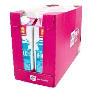 Viva Vital Laktosefreie H-Milch 1,5% Fett 1 Liter, 10er Pack