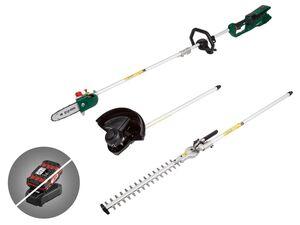 PARKSIDE® Akku-Kombigerät »PGKGA 40-Li A1«, 4 Anwendungszwecke, ohne Akku und Ladegerät