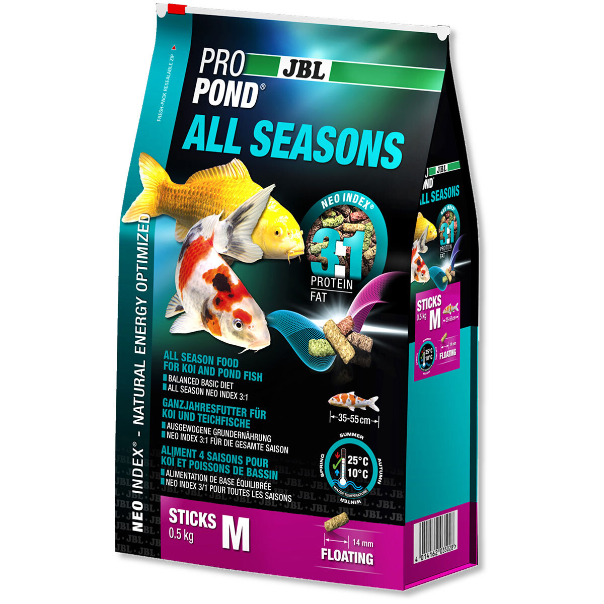 Bild 1 von JBL ProPond Ganzjahresfutter für Koi und Teichfische