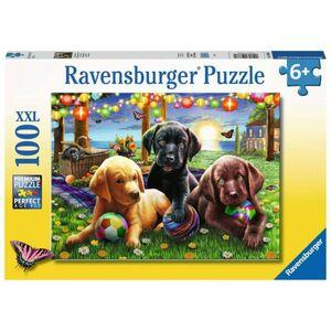 Puzzle - Hunde Picknick - 100 XXL Teile
