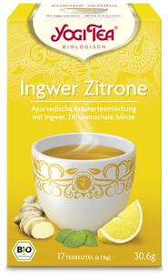Yogi Tea Bio Ingwer Zitrone 17x 1,8 g