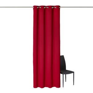 Esposa Ösenschal black-out (lichtundurchlässig) 140/245 cm  , 272088 / 900152 , Rot , Textil , 140x245 cm , 003115006207
