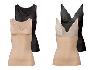 ESMARA® Formhemden Damen, 2 Stück, optimale Passform
