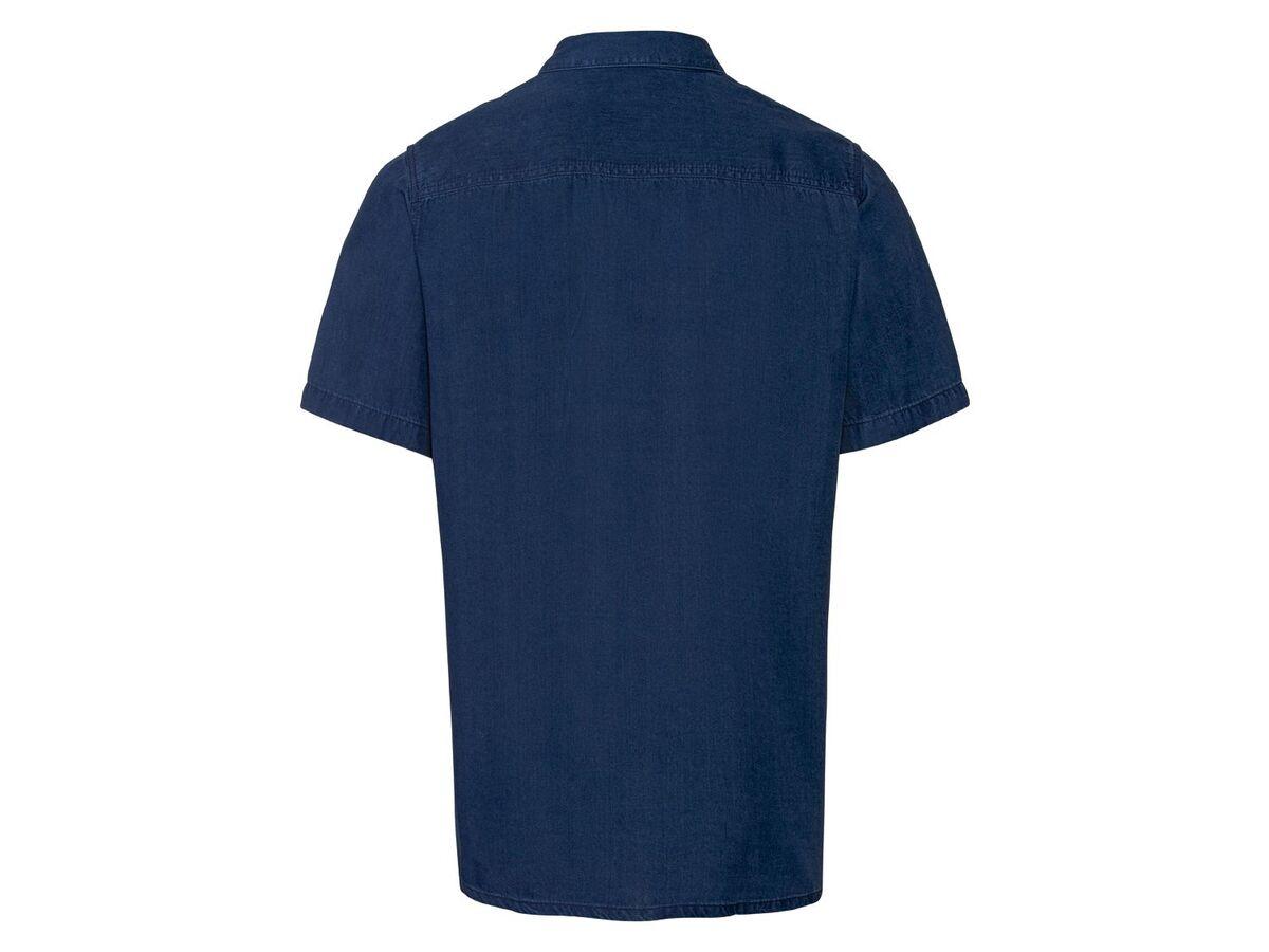 Bild 3 von LIVERGY® Hemd Herren, kurzarm, leicht taillierter Schnitt, aufgesetzte Brusttasche