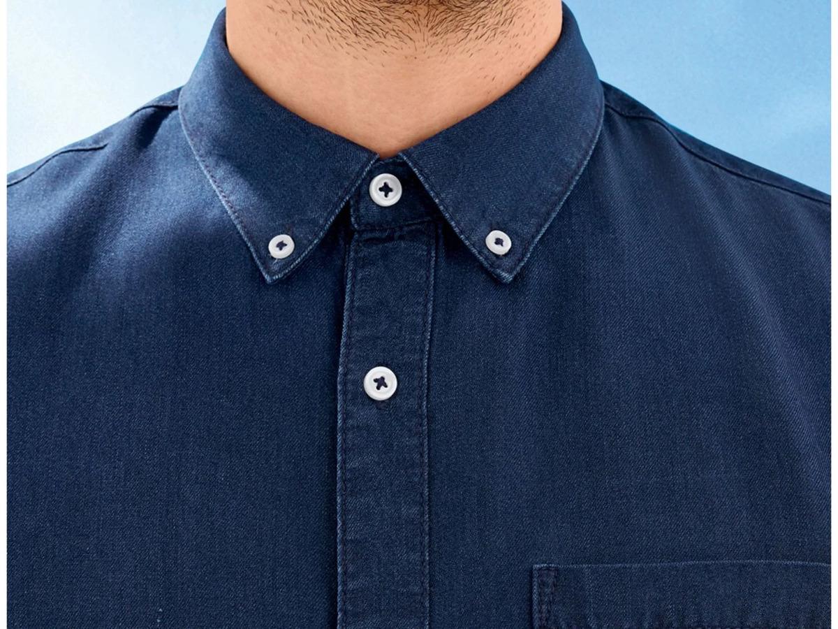 Bild 4 von LIVERGY® Hemd Herren, kurzarm, leicht taillierter Schnitt, aufgesetzte Brusttasche